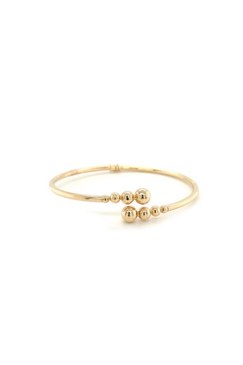 Bracelete Bubble em Ouro Amarelo